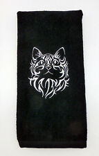Personalized Embroidered Golf/Bowling Towel  CAT