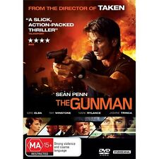 THE GUNMAN-Sean Penn-Region 4-New AND Sealed