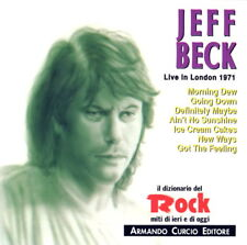 JEFF BECK - Live in London 1971  (Made in ITALY 1992) CD NUOVO