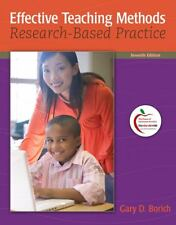 Effective Teaching Methods: Research-Based Practice Gary D. Borich 7th Edition