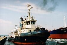 Ship colour photograph. SIGYN tug at Fredericia