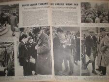 Photo article The Carlisle Hiring Fair 1945