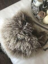 Real Mongolian Sheep Wool Bag