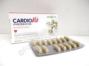 BIOS LINE CARDIOVIS pressione ►PROMO BIPACK◄ 30+30 cps vegetali con Biancospino