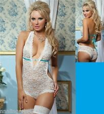 Naughty and Nice Lingerie Famous Maker Bridal Honeymoon Wedding Uptown Teddy