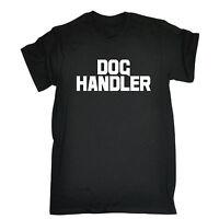 Dog Handler Chest And Back MENS T-SHIRT tee trainer uniform workwear walker