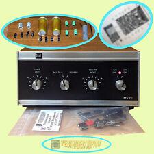 Dual MV61 Multifonie Zusatzverstärker Reparatur Elkoset + X2 Entstörkondensator