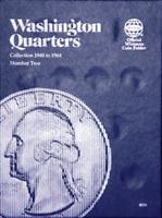 Whitman Washington Quarter Coin Folder Book #2 1948-1964 #9031