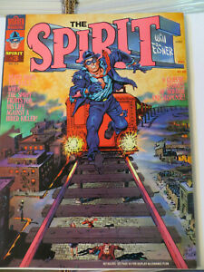 THE SPIRIT BY WILL EISNER #3 -W/ UNPUBLISHED COLOR STORY - 1974 -WARREN MAGAZINE
