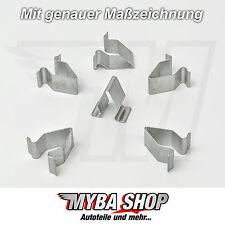 20x supporto in metallo parentesi morsetto madre SEAT VW SKODA