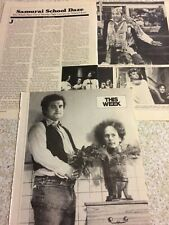 John Belushi, Lot of TWO Full and Two Page Vintage Clippings
