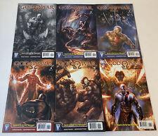 2010 GOD OF WAR video game comics #1 2 3 4 5 6 ~ FULL SET