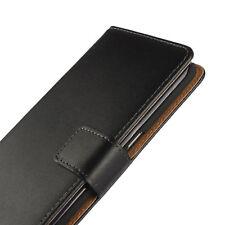 Book Case Handy Hülle aus Kunstleder für HTC Handy Tasche Schutz Hülle