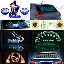 LED Equalizer Aufkleber Licht Folie Musik Rhythm Lampe Auto Heckscheibe Sticker