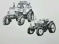 New Belarus 800 820 Tractor Operators Manual tractor 2wd 4wd older version