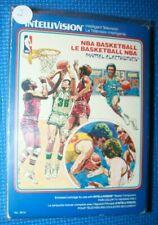 Boxed Intellivision Game: NBA Basketball #2