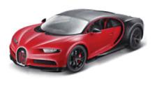 Bburago 1:18 Bugatti Chiron Sport Red NO.16 Diecast Model Racing Car New in Box