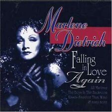 Falling in Love Again MRA by Marlene Dietrich CD, May-2002 Mra NEW