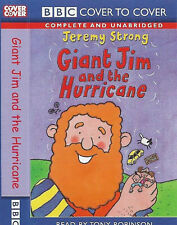 Jeremy Strong Giant Jim and the Hurricane CASSETTE READ BY Tony Robinson BBC