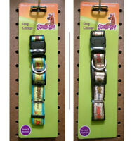 Scooby Doo Dog Collar - Retro Colors - Small Medium Large Breed Pet