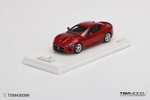 Tsm TSM430396 1/43 Maserati Granturismo Mc 2018 Rosso Trionfale (Resina)