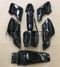 7 PCs Black Plastic Fairing Body Cover Kits For Honda XR125