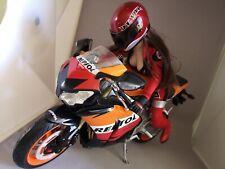 1/6 custom Play Toy Racer Girl + Moto Repsol Honda Moto KUMIK PHICEN
