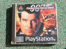 007 TOMORROW NEVER DIES  GAME PLAYSTATION 1 PS1/PS2 - COMPLETE