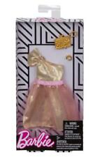 Barbie Complete Look Fashion Doll Outfit - One Shoulder Pink Tulle Gown NEW