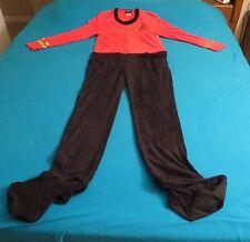 STAR TREK UNION SUIT LARGE RED SHIRT PANTS ONE PIECE NEW TOS UNIFORM COSTUME