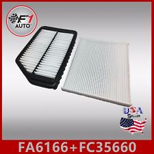 FA6166 FC35660 PREMIUM ENGINE & CABIN AIR FILTER for 2014-2018 FORTE 1.8L & 2.0L