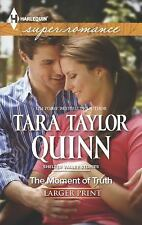 The Moment of Truth (Harlequin LP Superromance)-ExLibrary