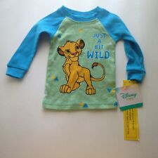 Lion King Simba Disney Baby T-Shirt Tee Boy or Girl  9 Months Blue Gold