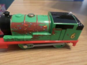 TRACKMASTER THOMAS  PERCY CHOCOLATE COVERED FREE UK POST