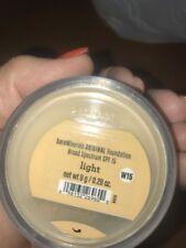 Bare Escentuals: bare Minerals Original Foundation  LIGHT  XL 8g W15 New SPF 15