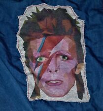 Unisexe Bleu Denim Ziggy Stardust David Bowie Jacket Small