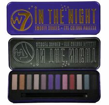 W7 Makeup Make Up - Eye Shadow Palette Naked Nude Natural Colours - In The Night