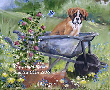 BOXER DOG PUPPY GLASSES CAMERA BINOCULAR FIBRE LENS CLEANING CLOTH Sandra Coen