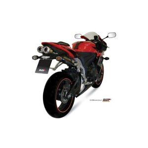 MIVV Exhaust Honda CBR 600 RR Bj.07-12 (x-Cone Plus, Stainless/Alu-Cap, X)