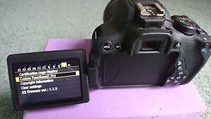418 LOW SHUTTER COUNT! CANON EOS 700d Digital DSLR Camera. 2 bat +18-55mm lens