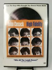 High Fidelity Dvd 2000 Widescreen Movie Starring John Cusack and Iben Hjejle