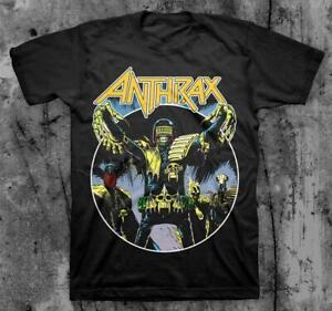 Anthrax - Judge Dredd Movie Sci-fi Action T-shirt Unisex Short tee S-3XL