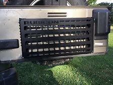 TJ jeep tailgate (fold down) molle panel