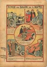 Salon de L'Auto au Grand Palais Hispano-Suiza Renault Paris 1933 ILLUSTRATION
