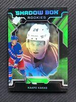 2019-20 UPPER DECK SPX KAAPO KAKKO ROOKIE SHADOW BOX GREEN #S-KK