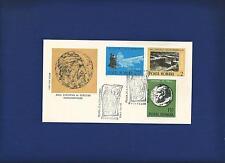 ROMANIA FDC 1975 Eropean monumnets