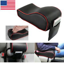 PU Leather Car SUV Armrest Box Mats Console Universal Pad Liner Cushion Cover