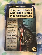 Ellery Queen's Book of Mystery Stories By 25 Famous Writers 1958 2nd Print