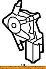 Jeep CHRYSLER OEM 07-17 Wrangler Front Door-Window Motor 68014953AA