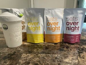 Oats Overnight - Dairy Free Variety Pack (7 Pack with BlenderBottle)
